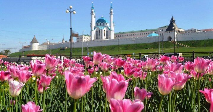 Казань. Татарстан. Вид на Кремль
